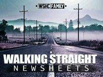 walking straight
