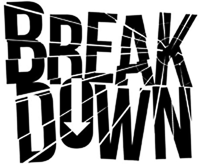 breakdowb