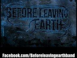 Before Leaving Earth