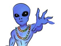 Image for Blue Alien Mystic