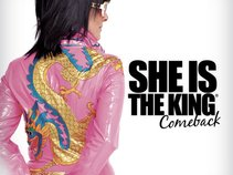 she is the king