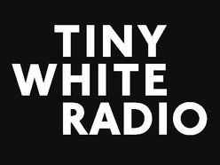 Image for tiny white radio