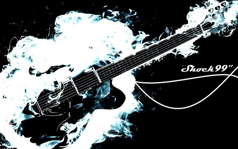 Flaming Guitars Digital Art Hd Wallpaper: ReverbNation