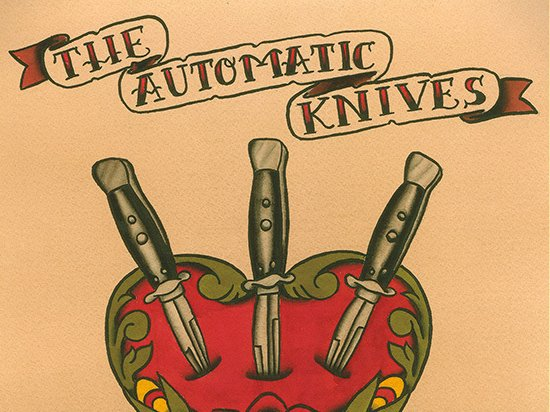 Image for The Automatic Knives