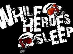 Image for While Heroes Sleep