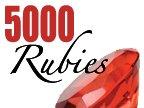 5000 Rubies