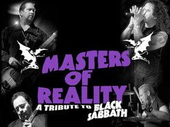 Image for Masters Of Reality (The Black Sabbath Tribute)