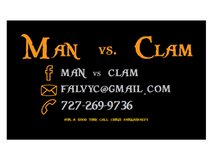 MAN VS. CLAM