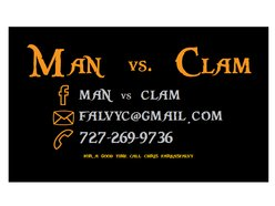 Image for MAN VS. CLAM