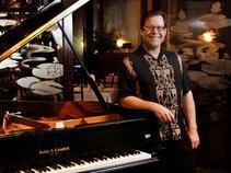 Glenn Osur at the Piano