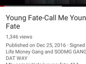 ~YOUNG FATE~RICH LIFE MUSIC GROUP~
