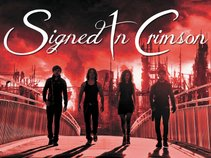SIGNED IN CRIMSON