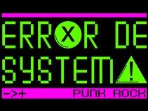 Error de Systema