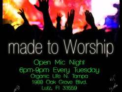 Image for Open Mic Night Organic Life (Tues.6pm-9pm)