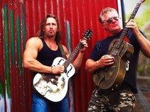 Monster Guitars - Adam Hole and Mark Easton