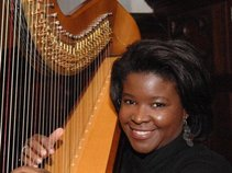 Harpist Candace Lark
