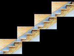 The Plywood Staircases