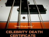 Celebrity Death Certificate