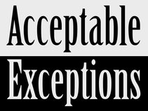 Acceptable Exceptions