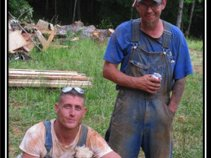 Moonshiners Wildman Josh Owens , Bootleg Bill and Master Shiner Cutie Pie