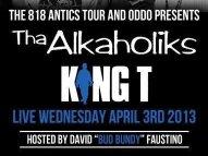 "Image for Tha Alkaholiks + King-T 'ODDO"" presents the 818 Antics Tour"