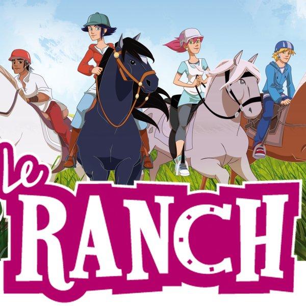 Dessin animé le ranch