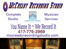 McCready Recording Studio