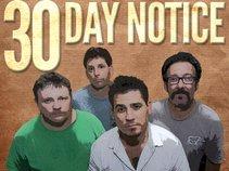 30 Day Notice