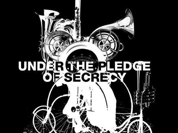 Image for UNDER THE PLEDGE OF SECRECY