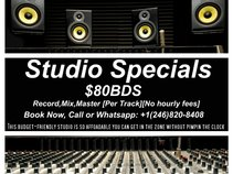 Recording Sessions & Beats[$80Bds]