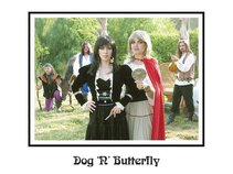 Dog n Butterfly
