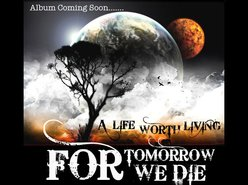 Image for For Tomorrow We Die