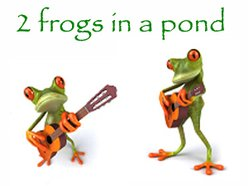 2 frogs in a pond