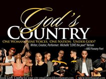 God's Country --One Woman. Nine Voices. One Country. Under God?