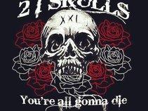 twentyone skulls