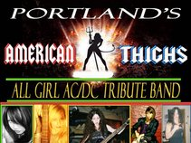Girl AC/DC tribute band American Thighs