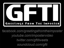 Image for Greetings From The Imposter