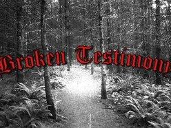 Image for Broken Testimony