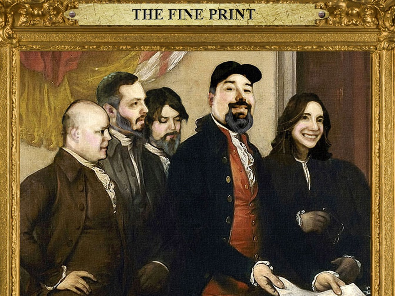 Image for The Fine Print