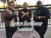 "DJ FLASH -w- Rich Cason & The ""Rappers Rapp Group"""