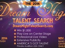 Dream Night Talent Search