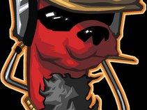 Red Llama Dog