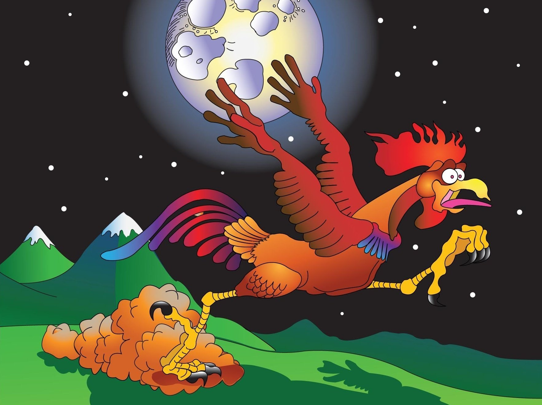 Image for Ran Off The Rooster