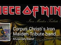 """""""Piece of Mind"""" Iron Maiden tribute band"""