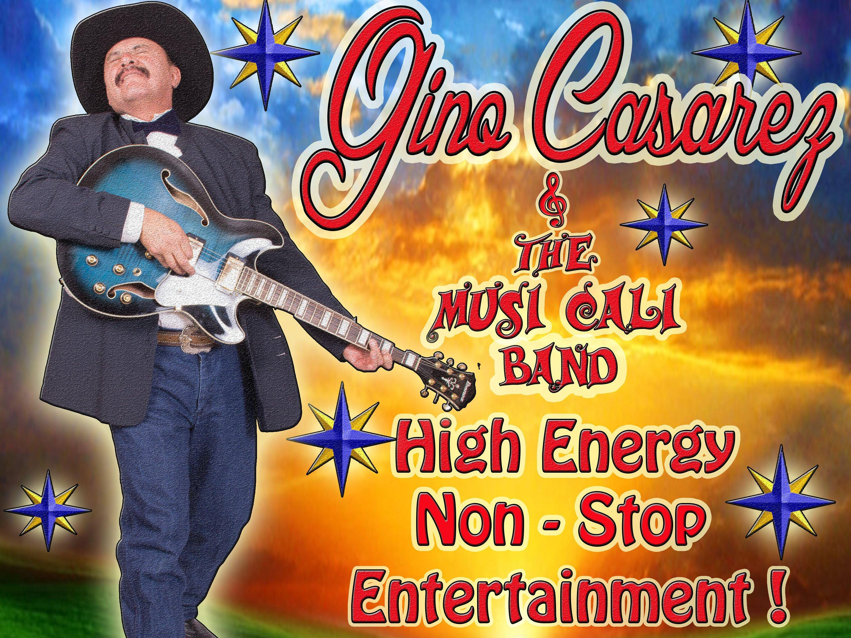 Image for Gino Casarez & The Musi Cali Band
