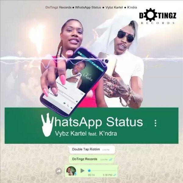 WhatsApp Status - Vybz Kartel feat K'ndra (RADIO EDIT-2017) 2 by k