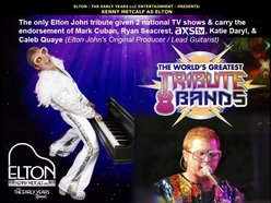 Image for Elton -The Early Years LLC Entertainment presents Kenny Metcalf as Elton
