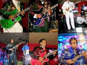 """LaMonte DeMille & The Key Of """"C"""" Chicago Style Blues Band"""