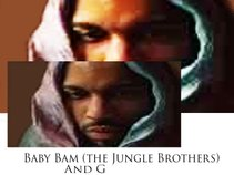 Baby Bam and G (Afrika Baby Bam from Jungle Brothers)