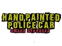 Hand Painted Police Car